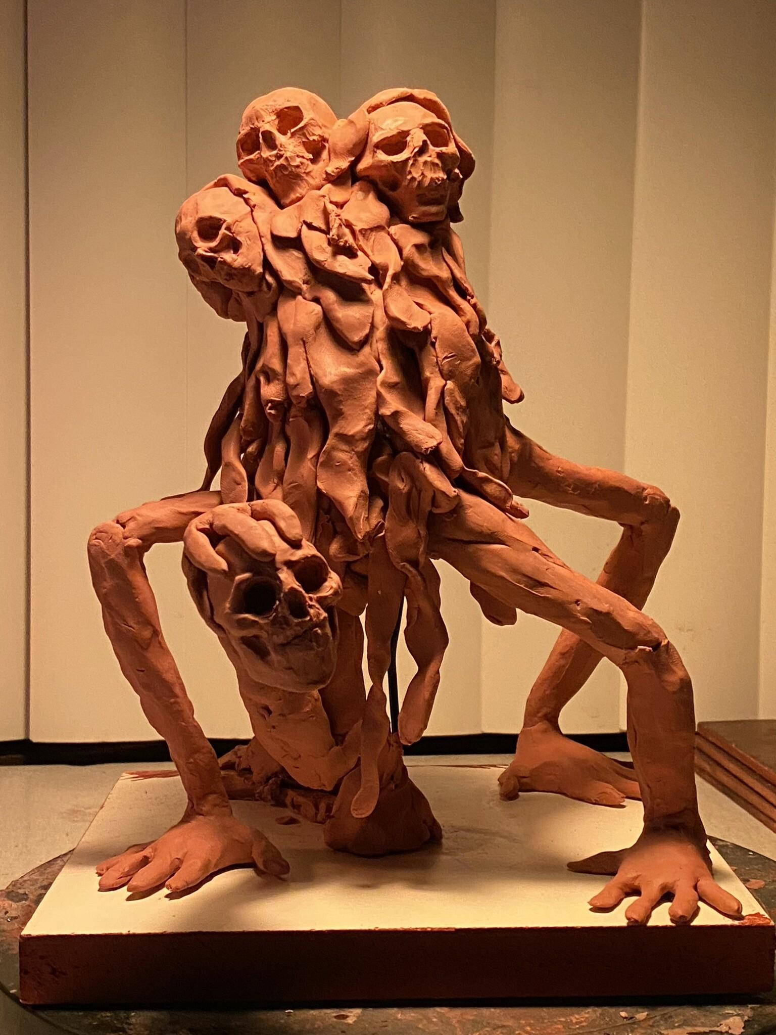 Vulture - Concept Speed Sculpt (Chavant NSP Clay)