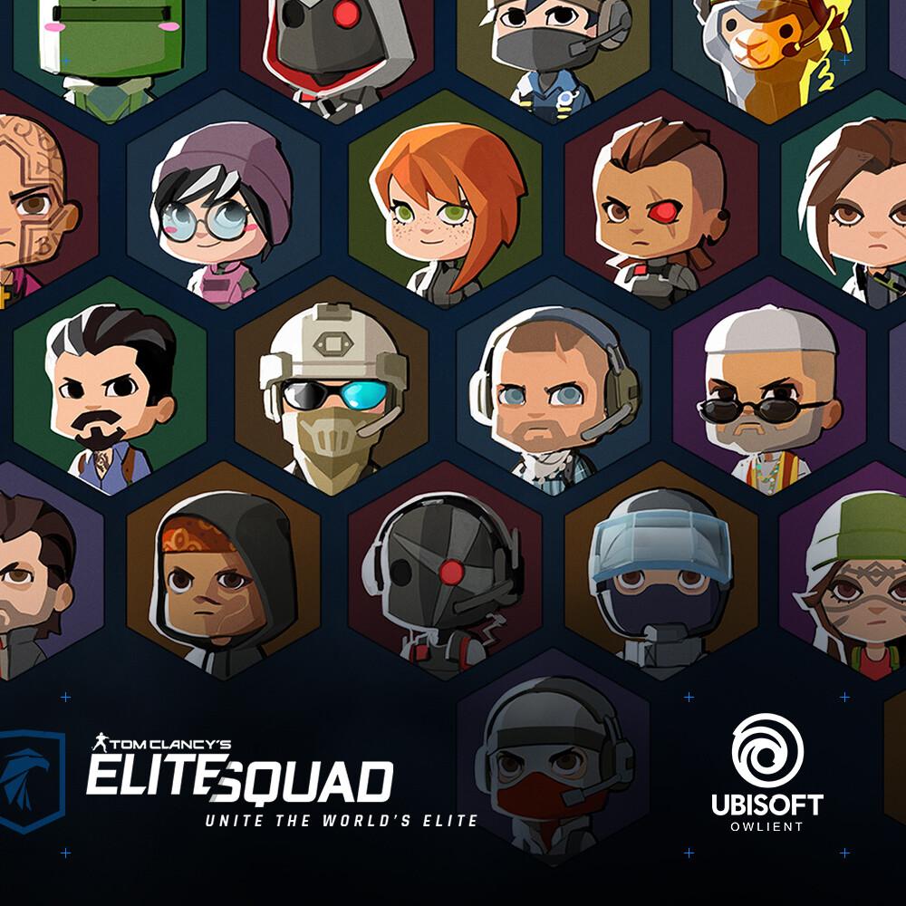 Elite Squad - Cute Avatars