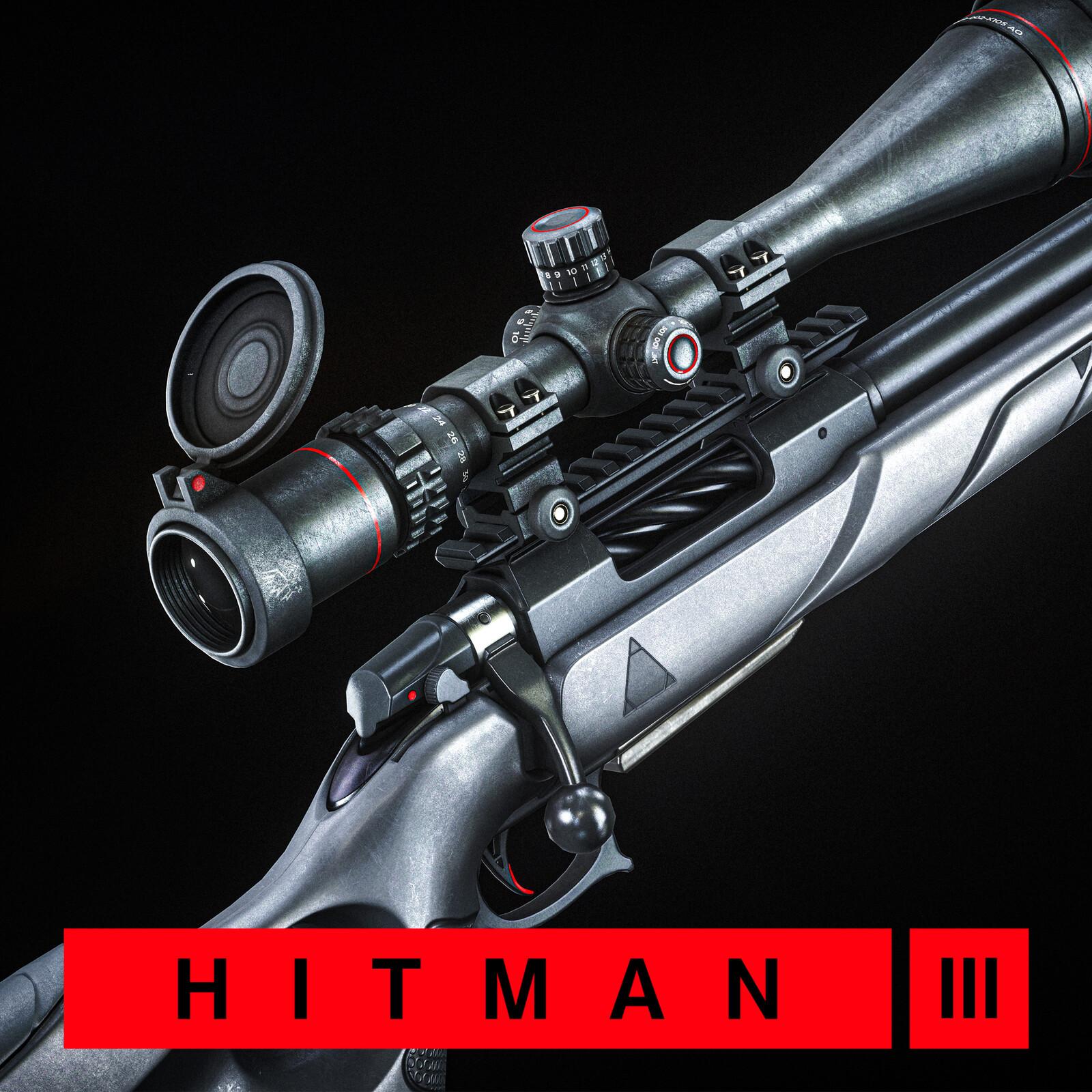 Hitman 3 - ICA Hunting Rifle