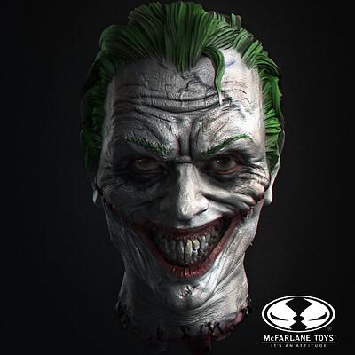 Joker Head (Todd McFarlane's Batman: Last Knight on Earth)