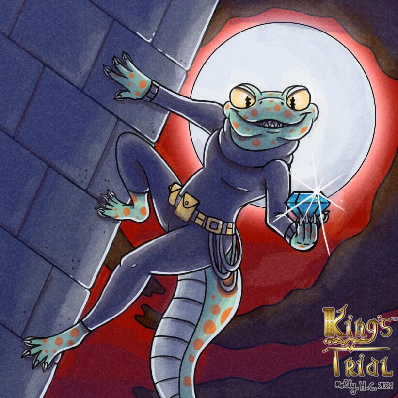 King's Trial: Smooth Criminal card illustration (2020)