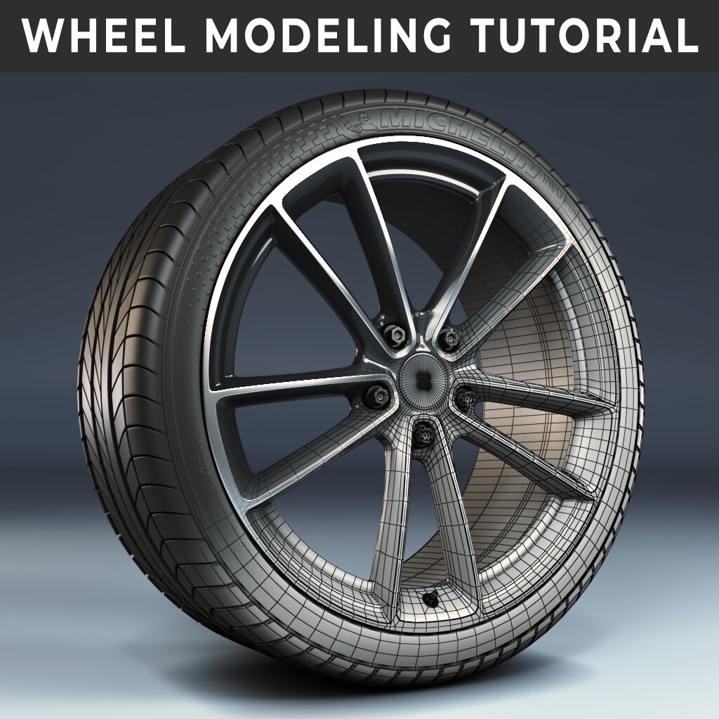 Modeling a Wheel and Tire - Tutorial