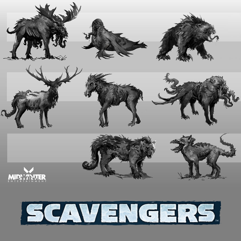 Scavengers - Infected Creatures