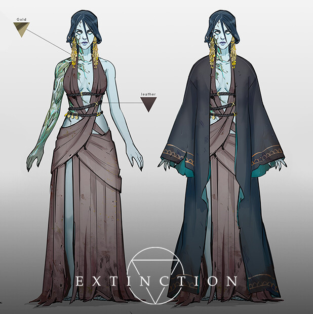Witch Pandora - Final Concept