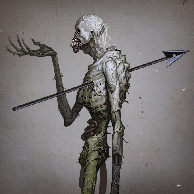 Zombie - Flayer Concepts