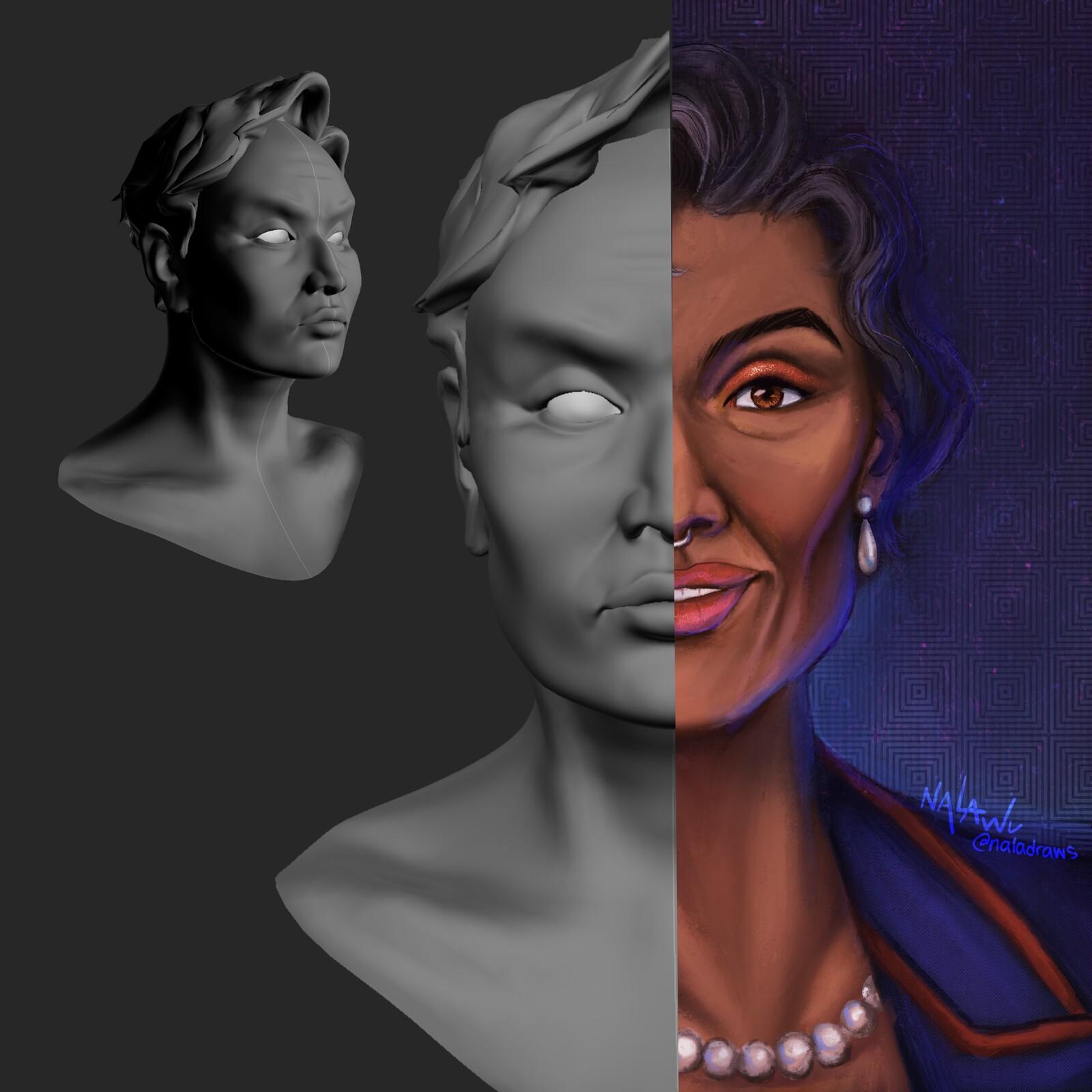 3D Sculpt - Aditya LaVehre