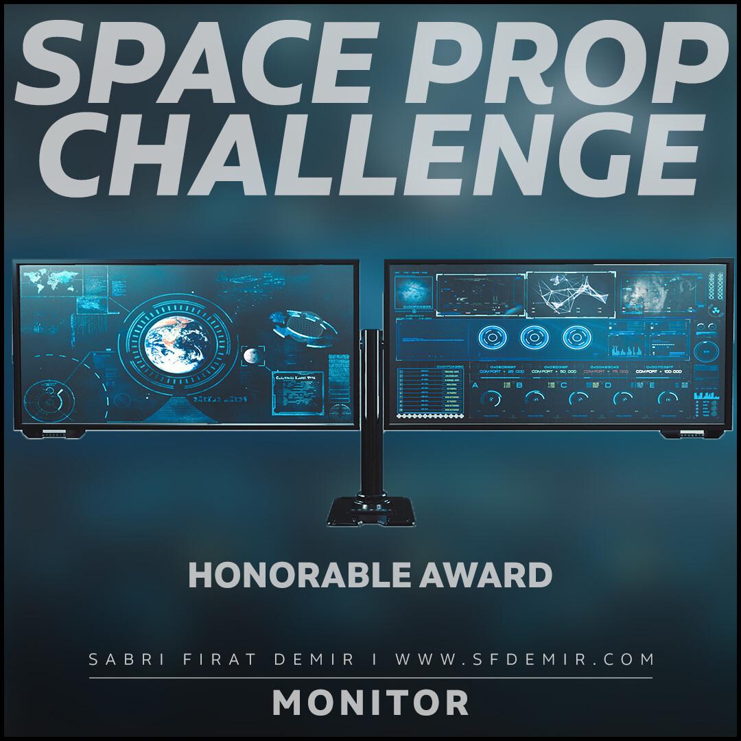 Dual Sci-Fi Monitor