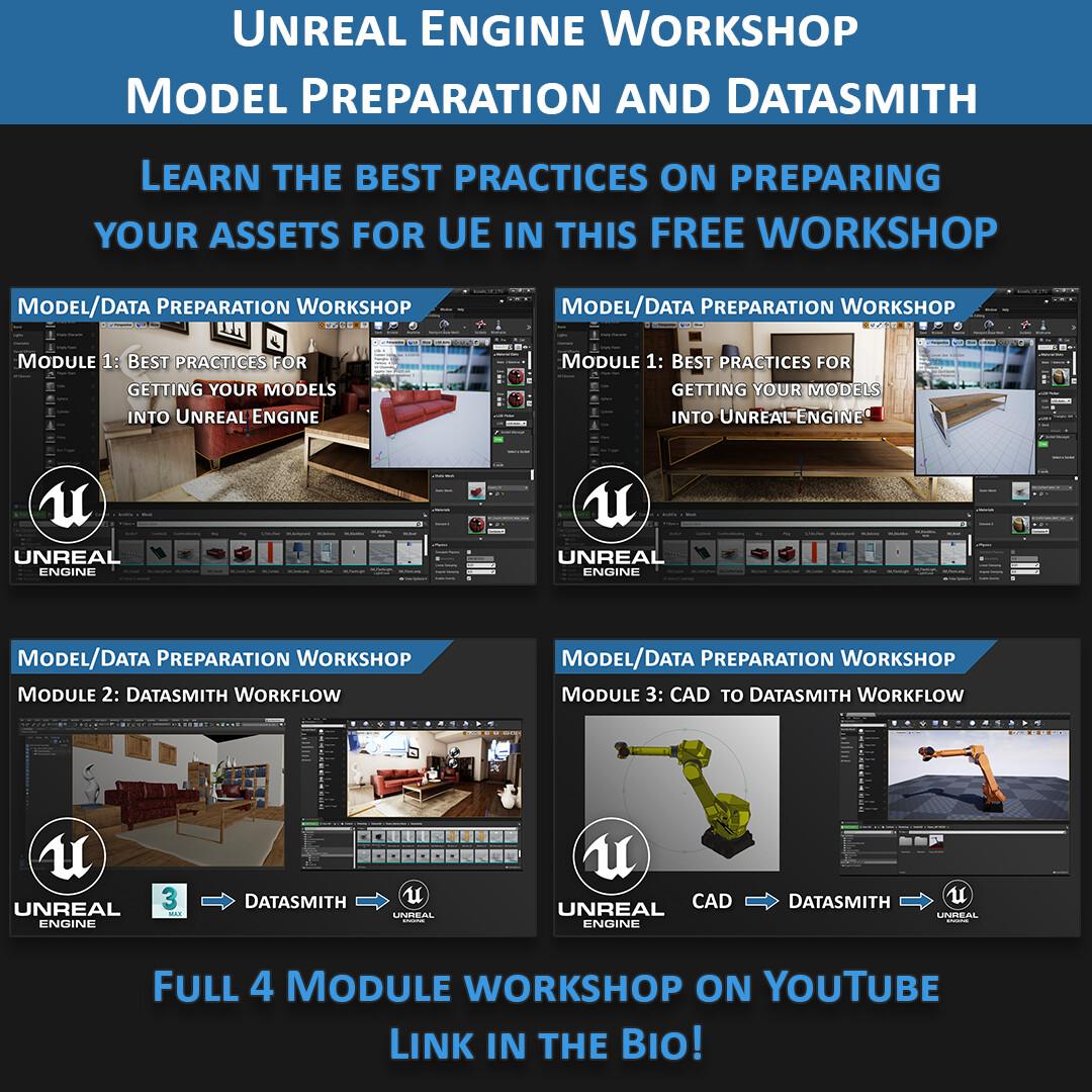Unreal Engine Model Prep Workshop
