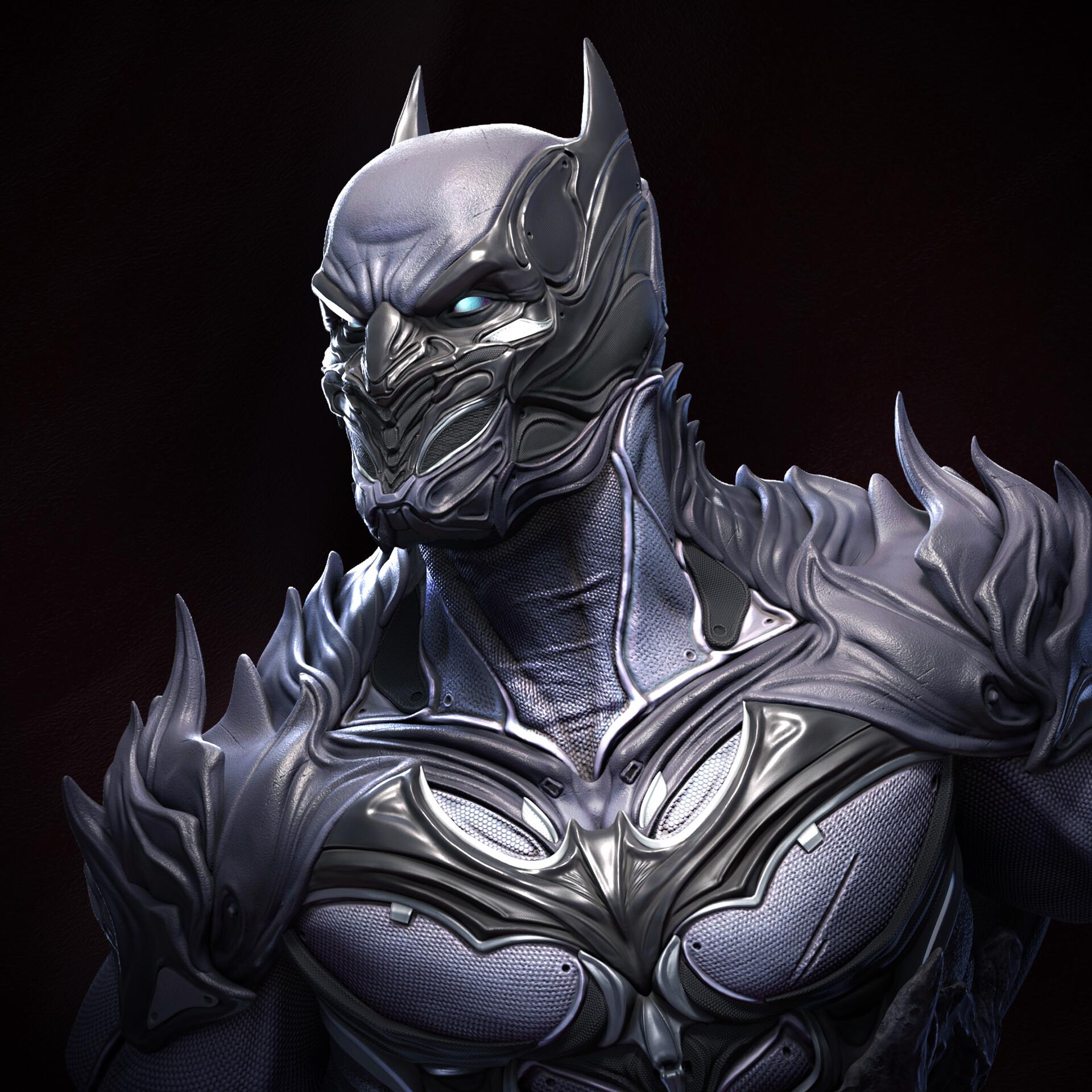 Batman bust (fan art)