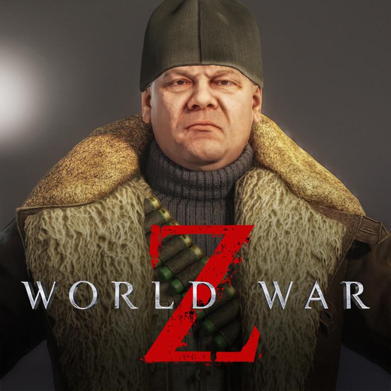"""WWZ character """"Sergei Popov"""""""