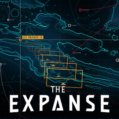The Expanse: Razorback UI - Valles Marineris