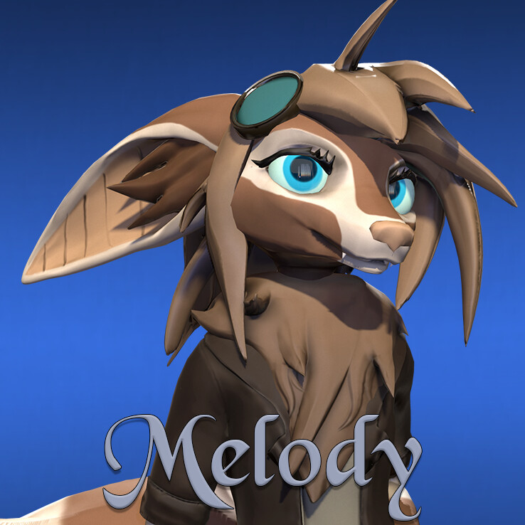 Melody - Character Model