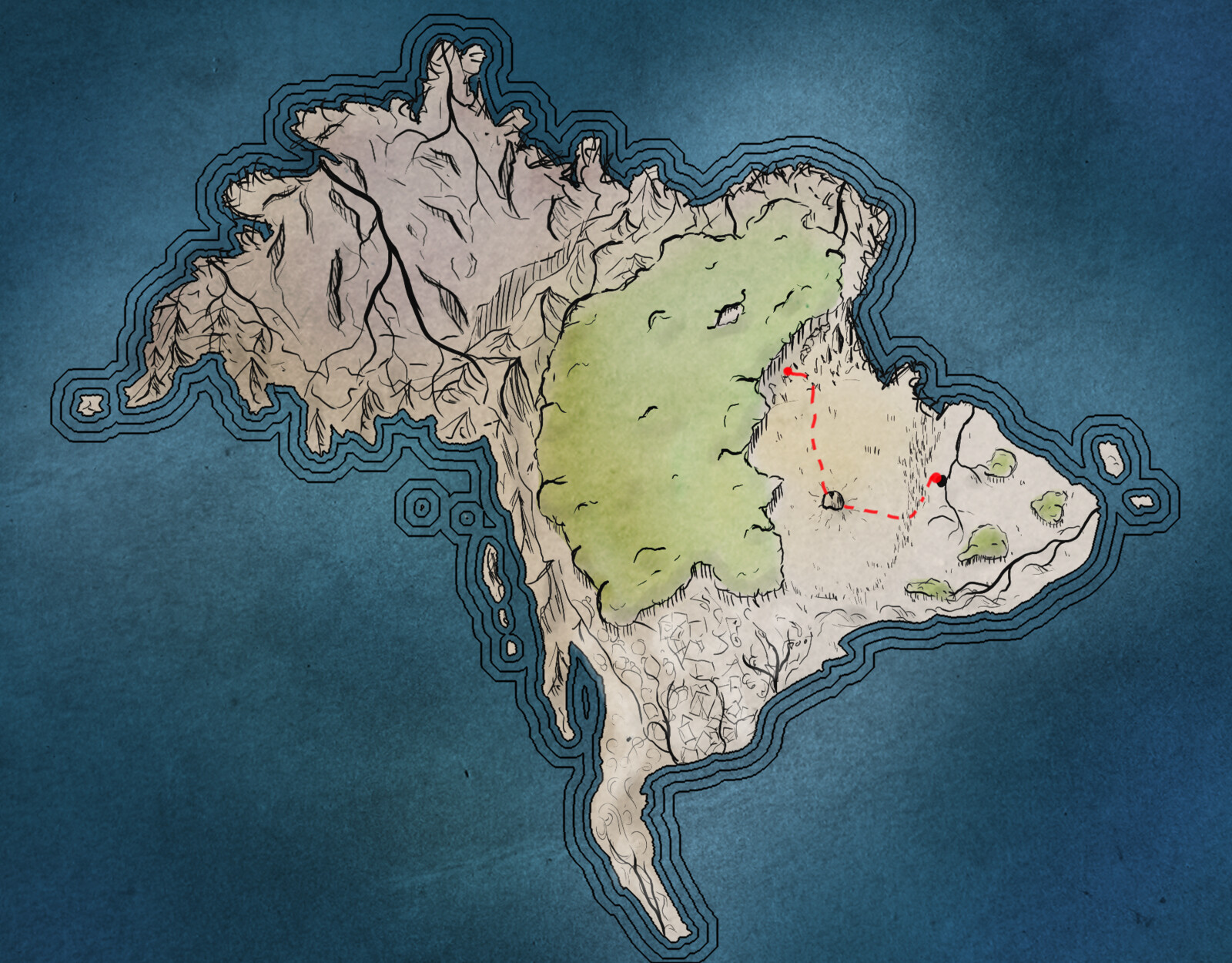 Maps of Aondal