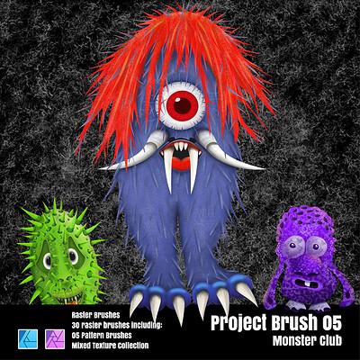 Stuart ruecroft stuart ruecroft project brush 05 monster club 0 3x