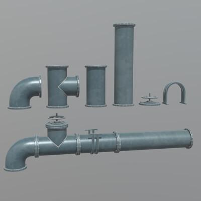 Modular Pipe Set