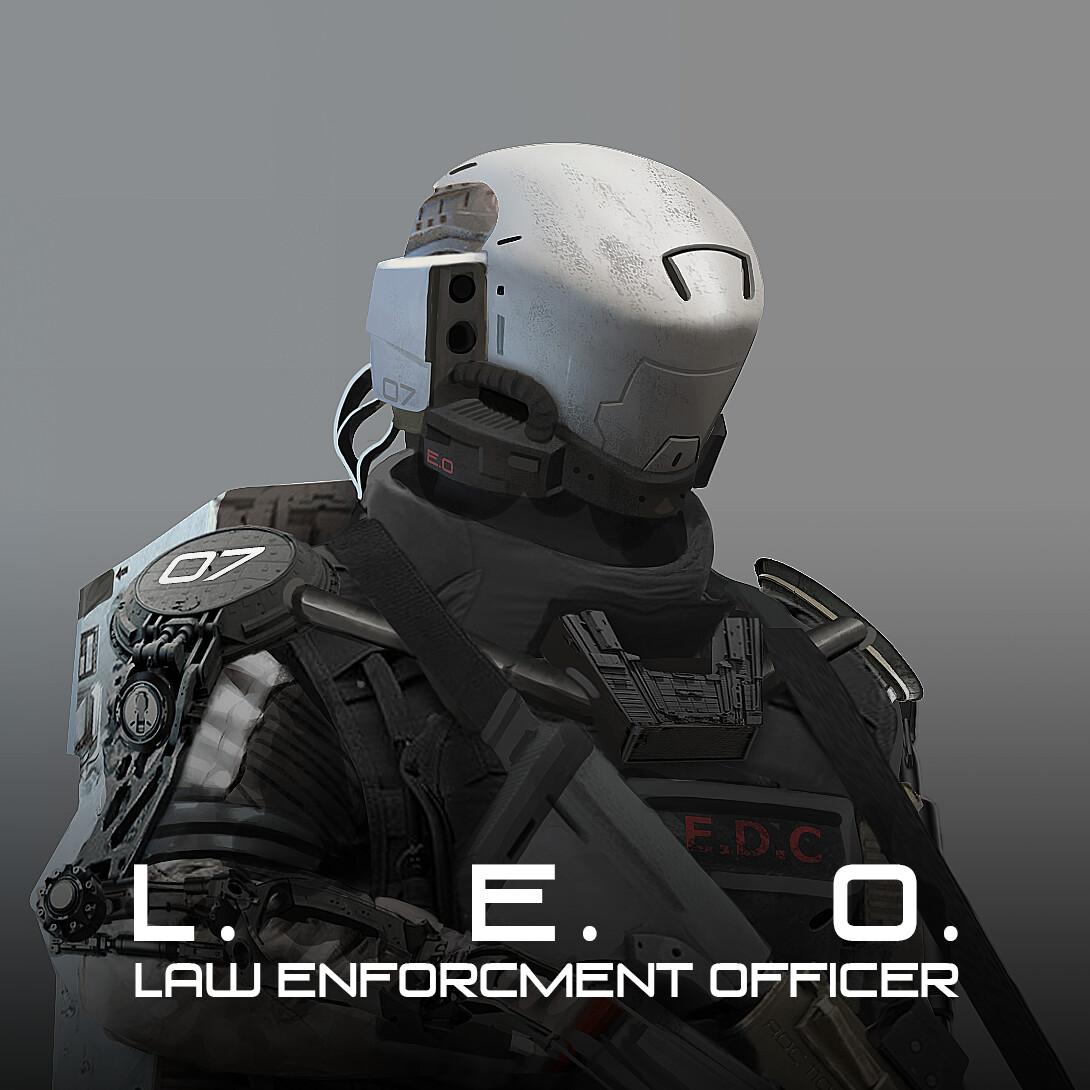 L.E.O. Law Enforcement Officer