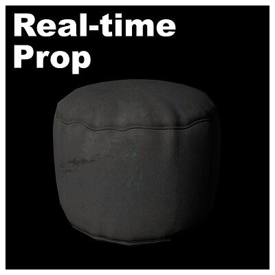 Floor Cushion - Real-time