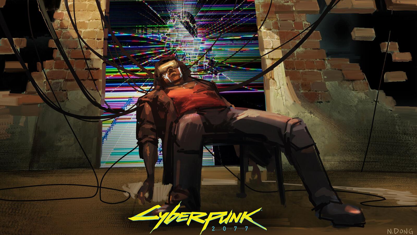 Cyberpunk 2077 - Plugged in