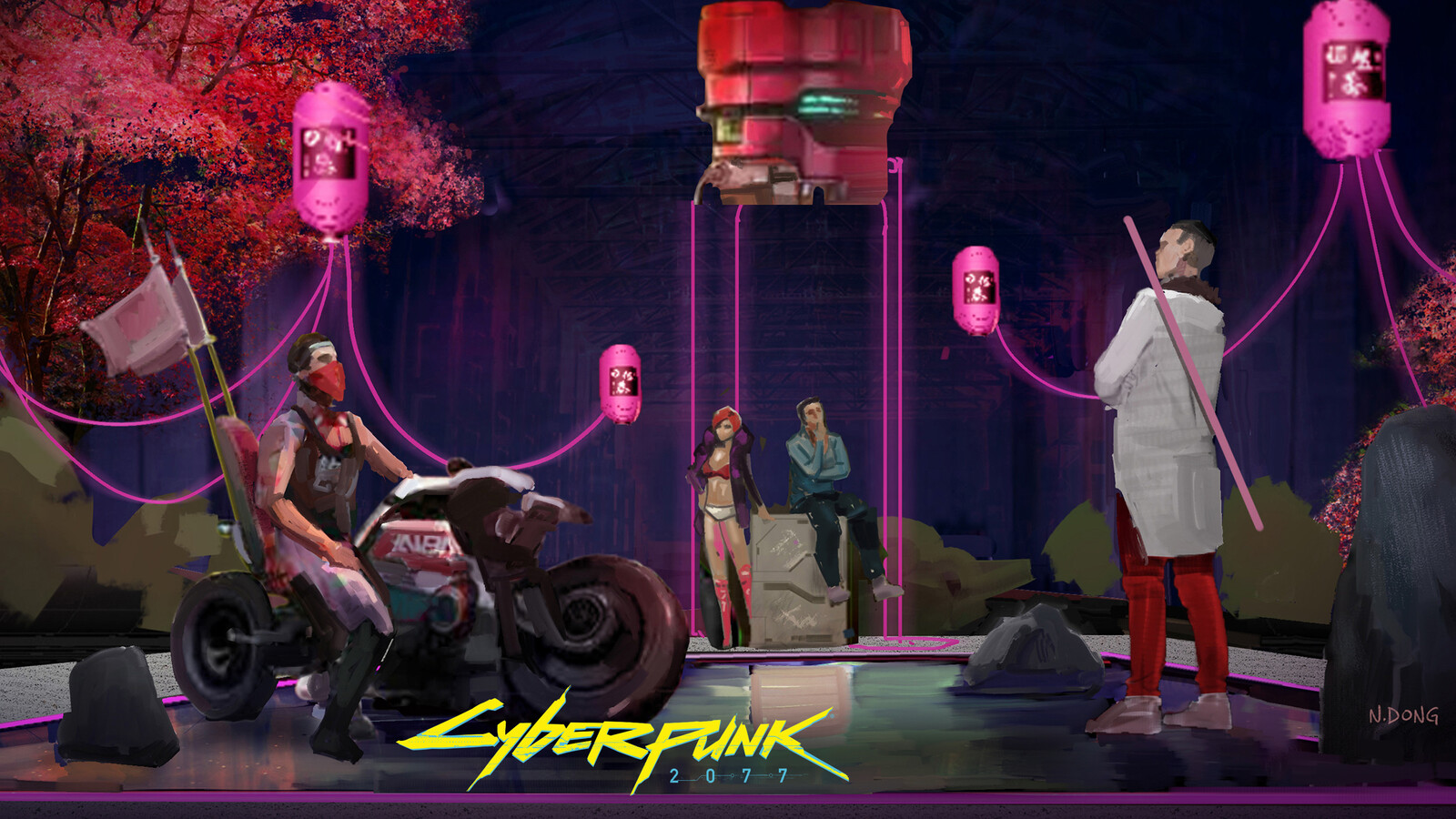 Cyberpunk 2077 - Sho Tokyo