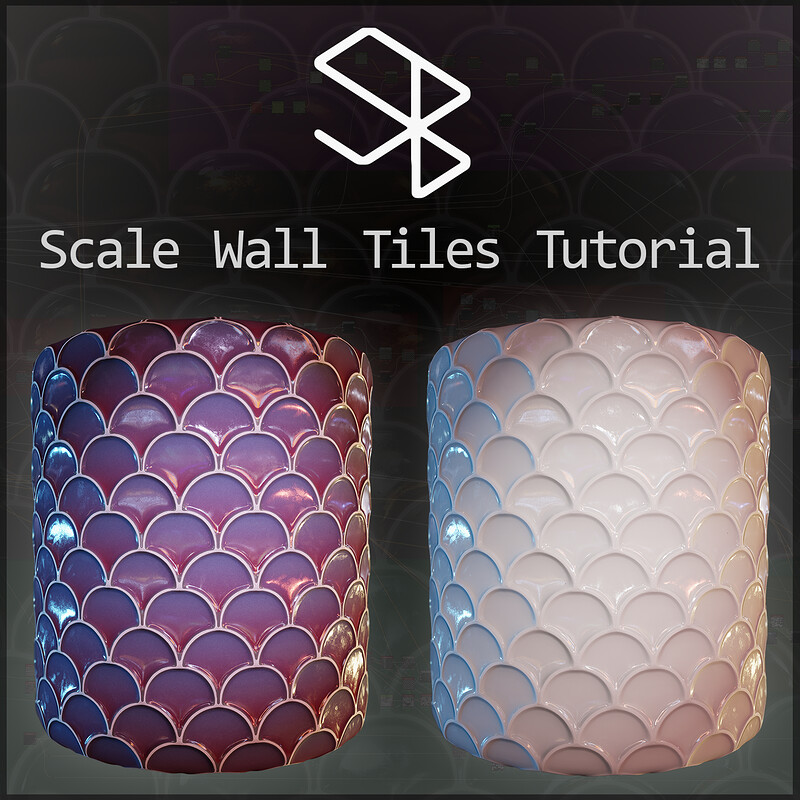 Substance Designer Tutorial - Scale Wall Tiles