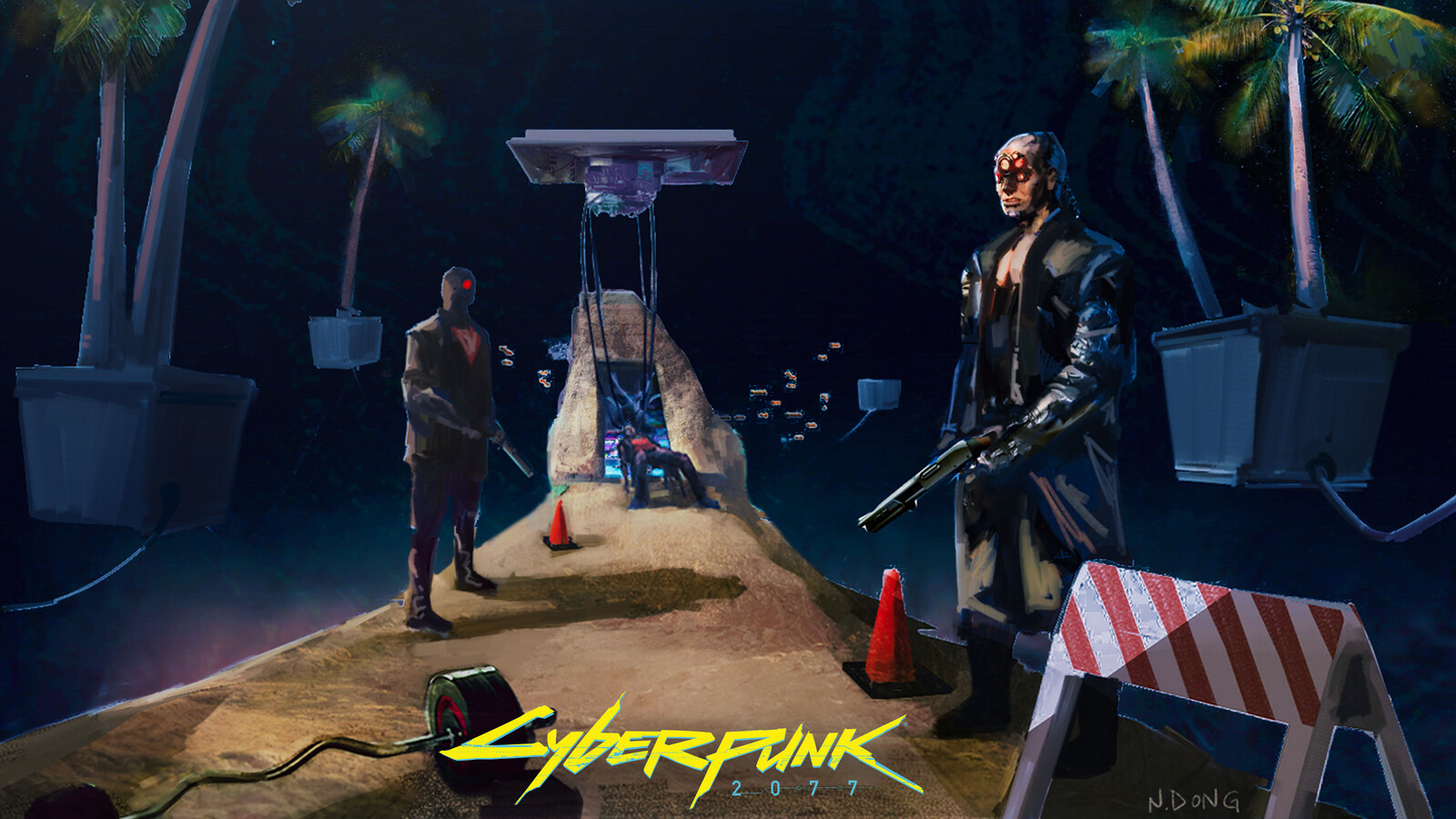 Cyberpunk 2077 - Krumper