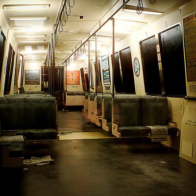 [UE5] BART Train Car