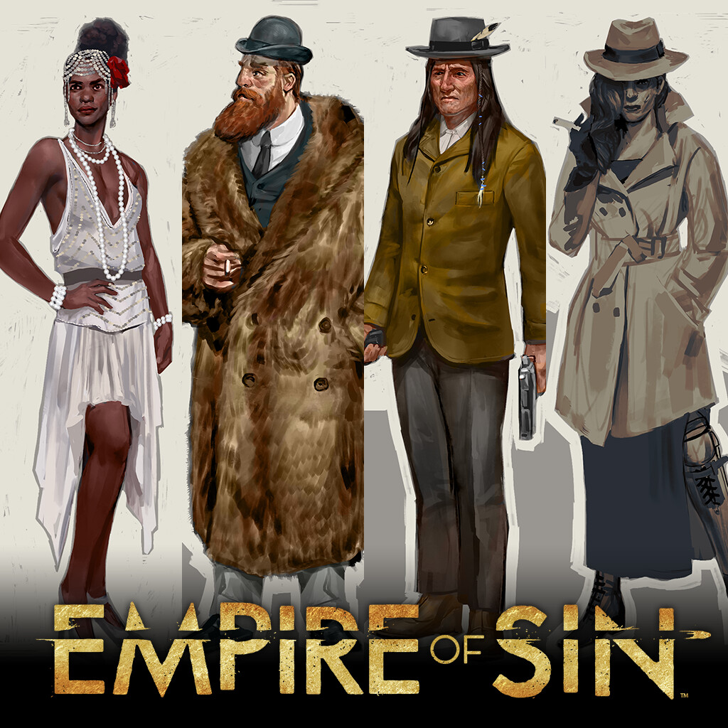 Empire of Sin Gangsters & NPC concepts