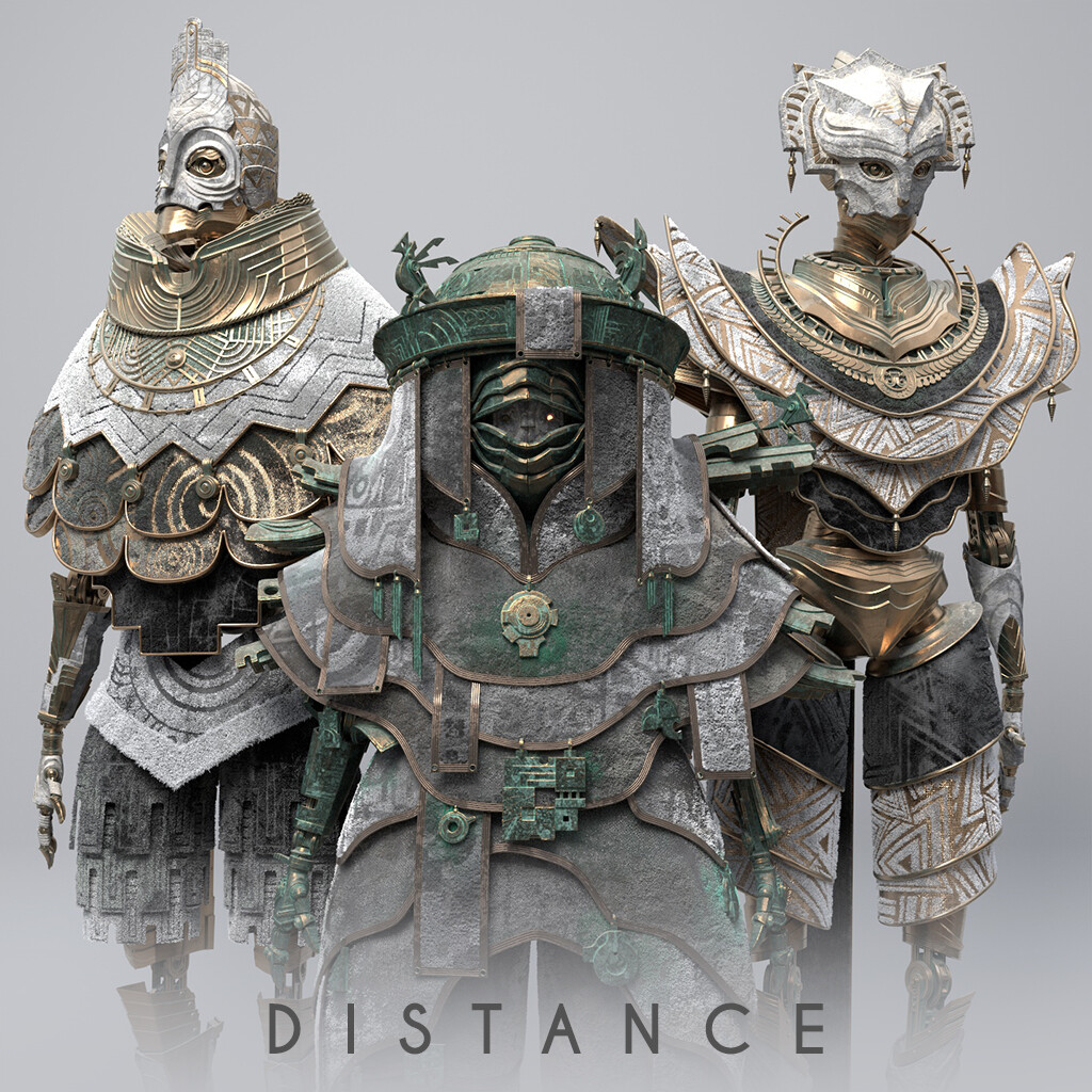 Distance - Main characters process
