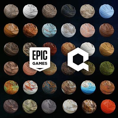 Epic Games / Quixel | 233 High-quality Smart Materials