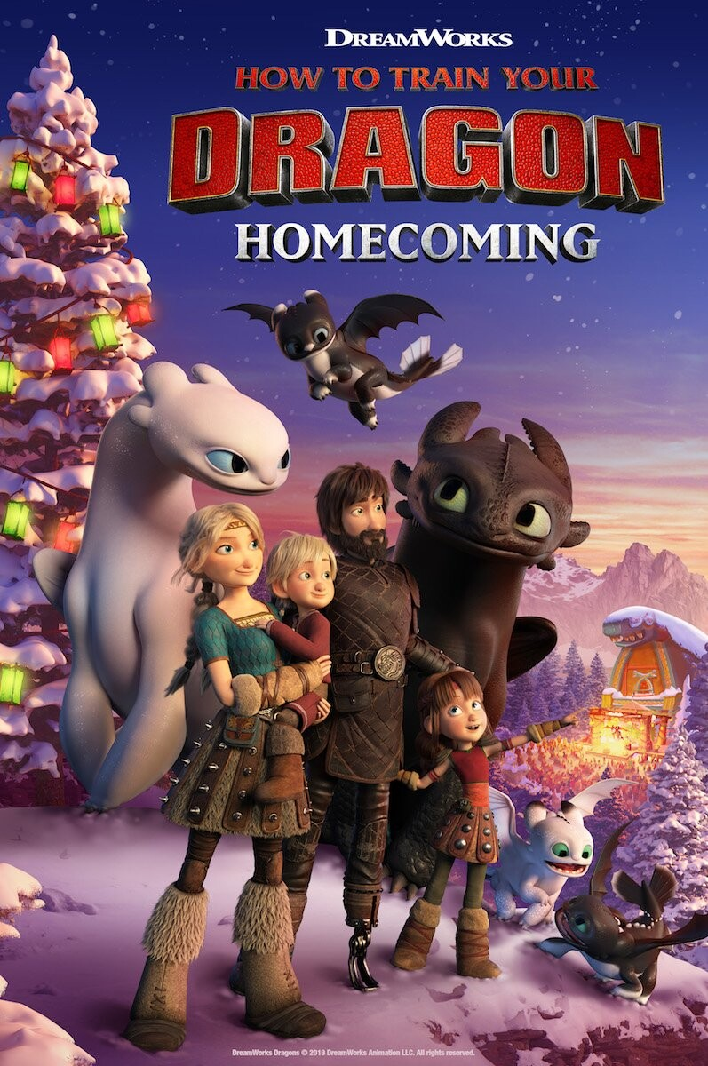 How to Train Your Dragon Homecoming - 2019