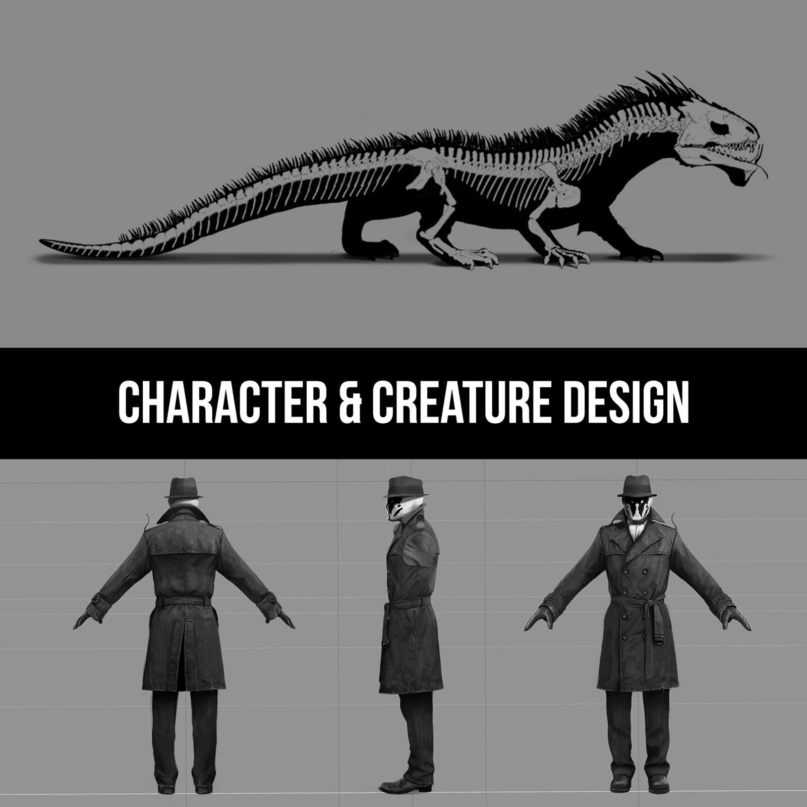 CHARACTER & CREATURE DESIGN
