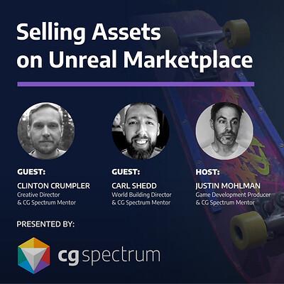 CGSpectrum: Selling on Unreal Marketplace