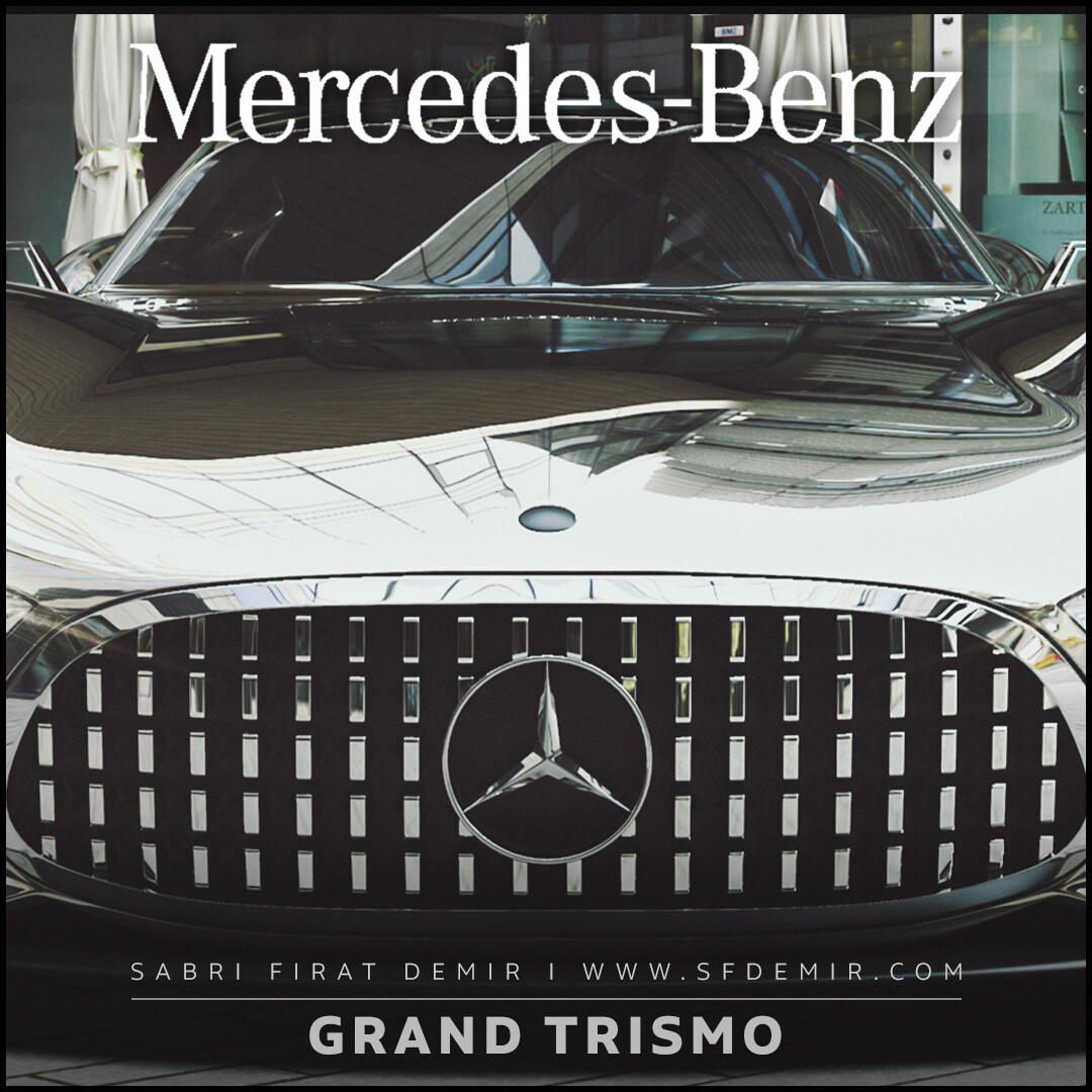 Mercedes Benz - Concept Car - Render Scene