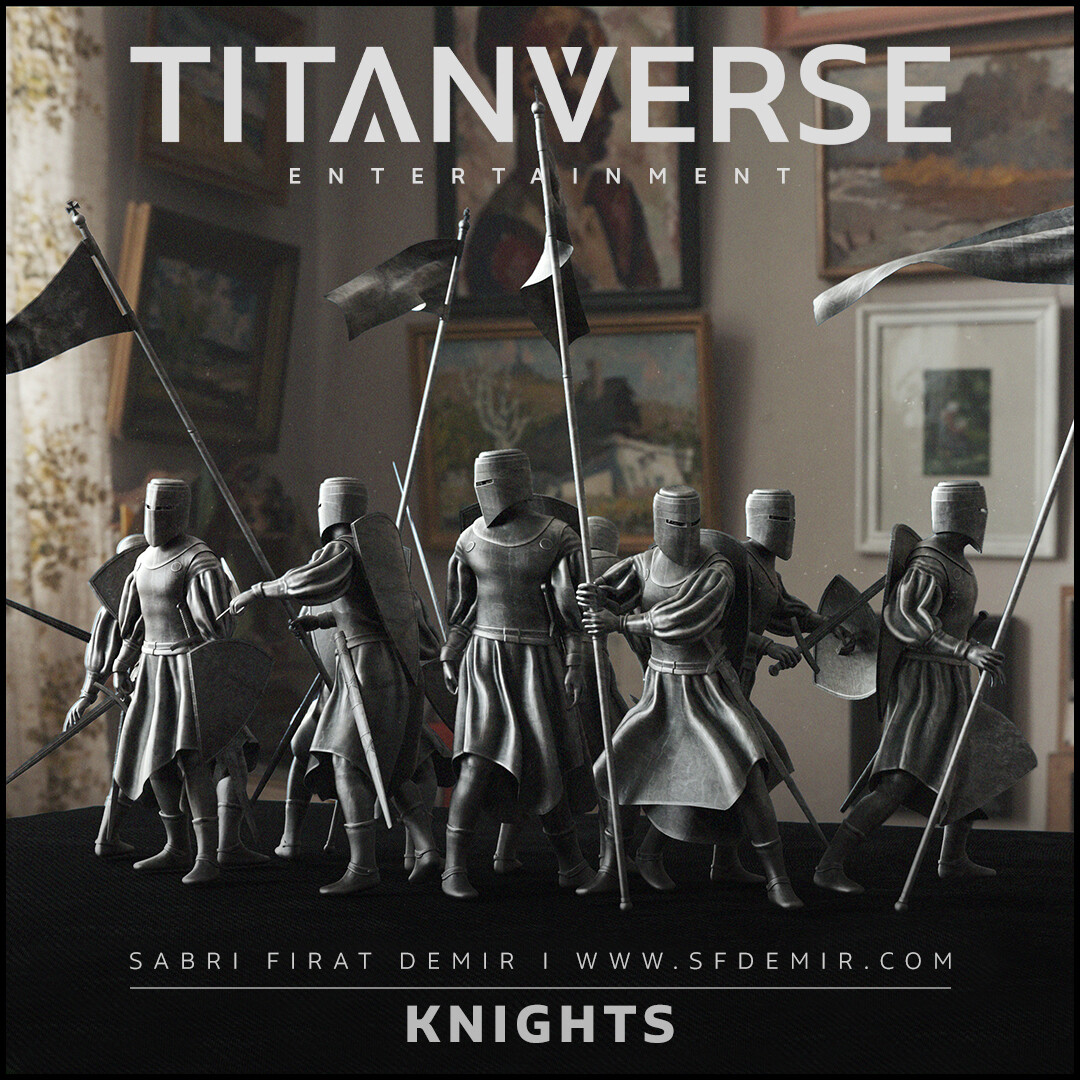 Statue Of Knights