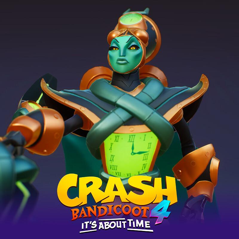 Ntropy (alt universe) - Crash Bandicoot 4 It's About Time