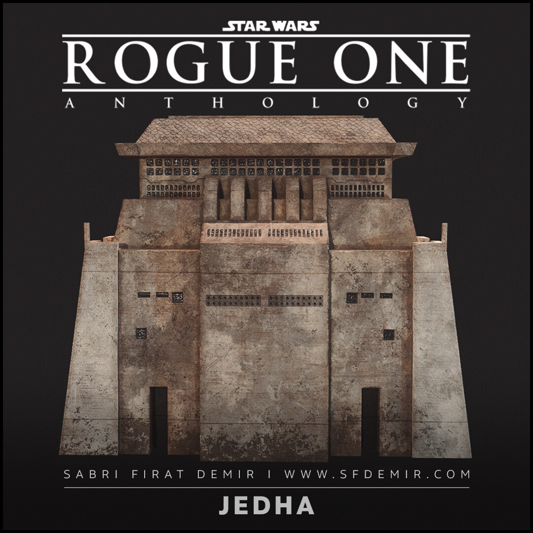 Jedha Central Building / Star Wars Rogue One