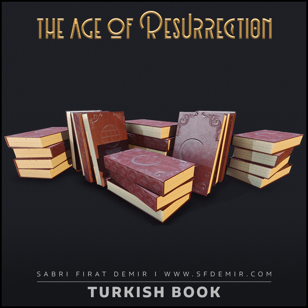Turkish Ancient Book