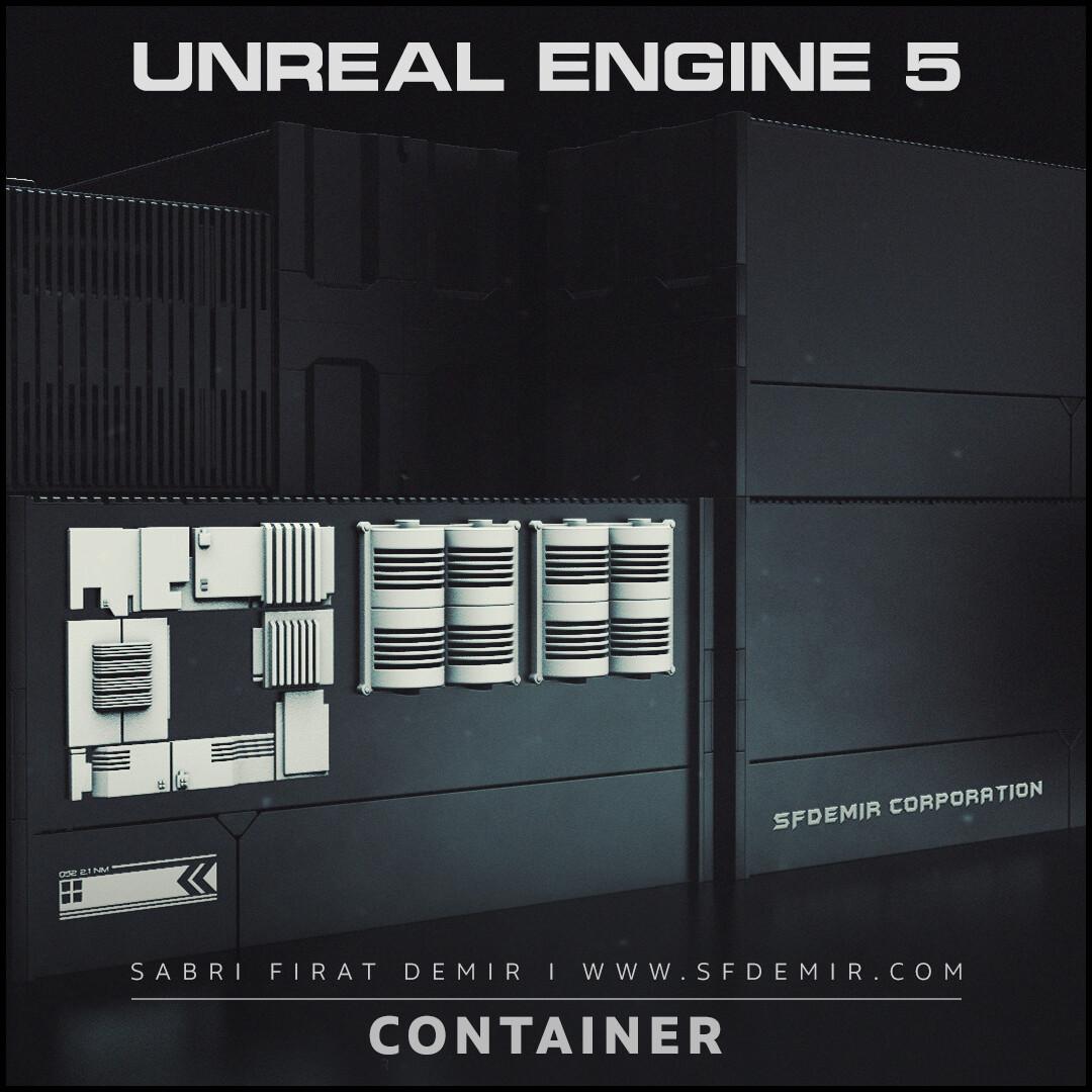 SFDEMIR Sci-Fi Container