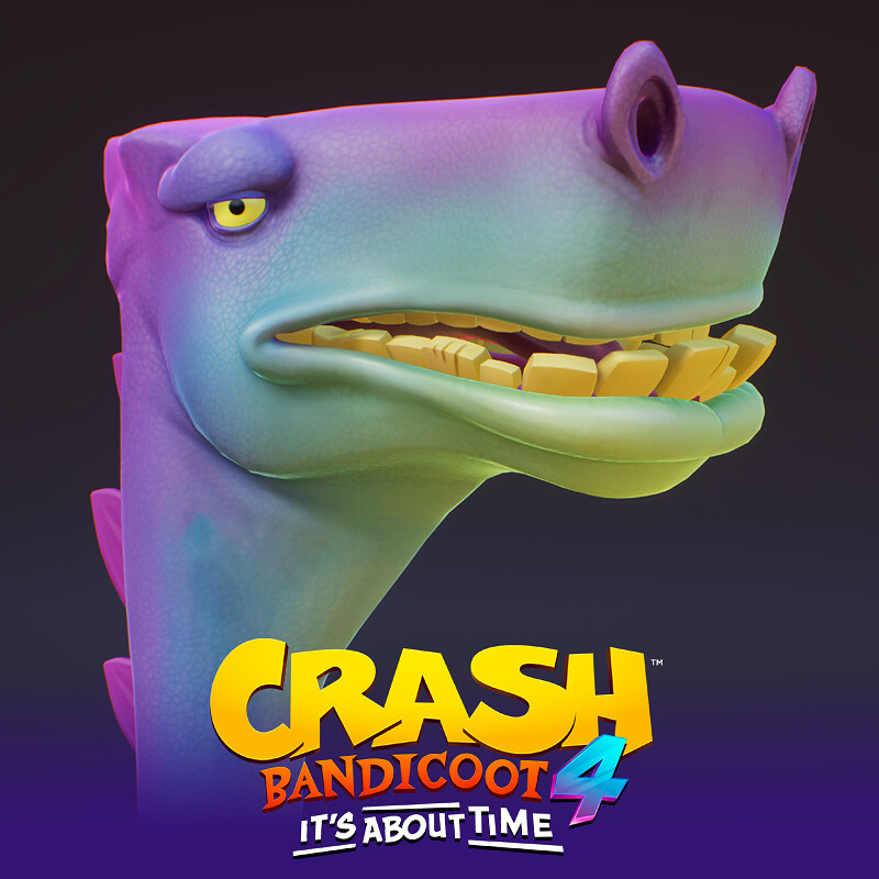 Dino Creature - Crash Bandicoot 4 It's About Time