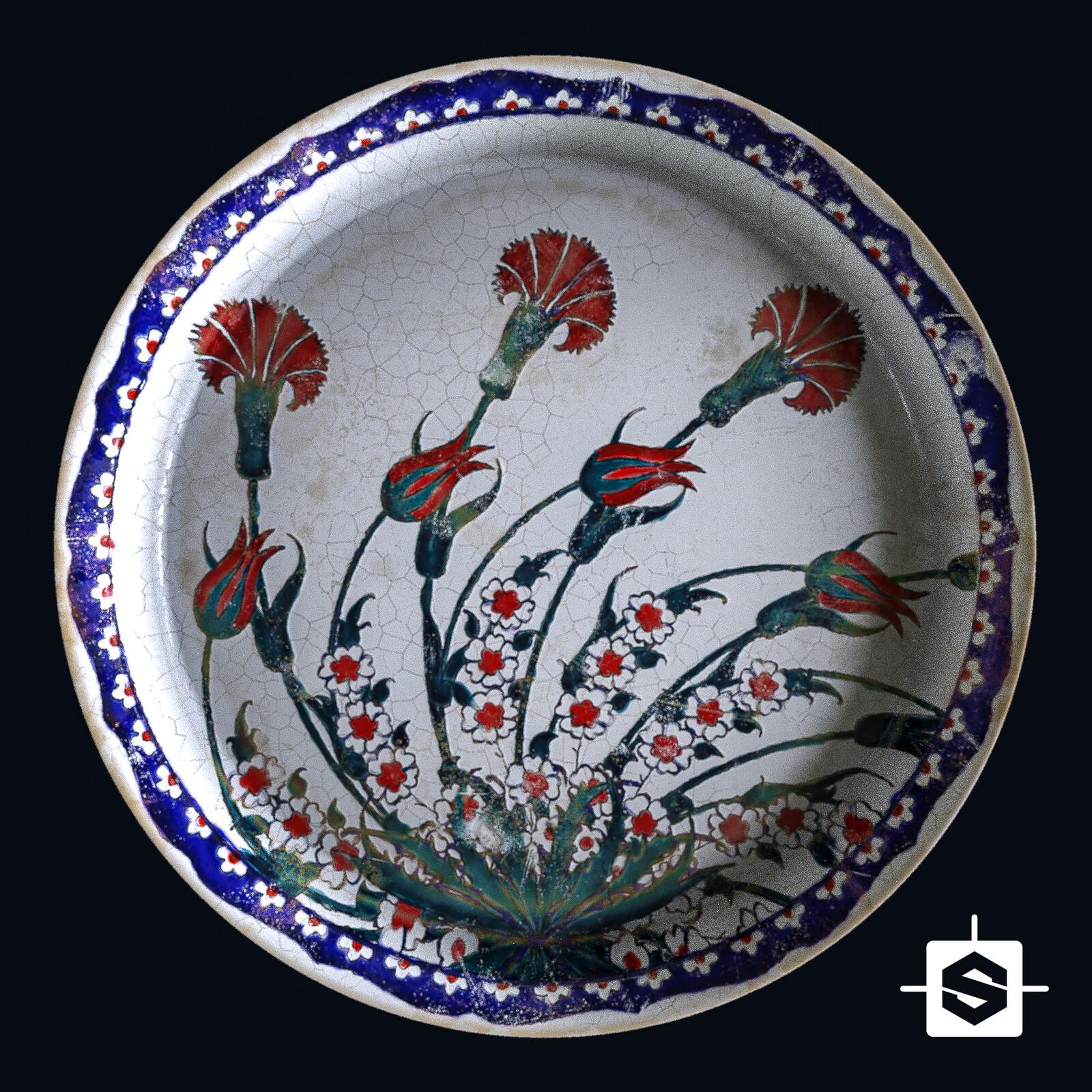 Anatolian Ceramic Tile Maker - 85% Substance Designer