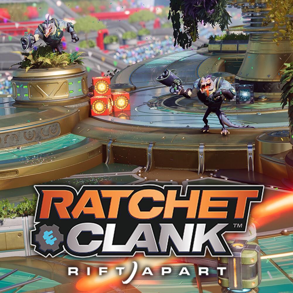 Ratchet & Clank: Rift Apart - Megalopolis Parade - Great Clock Float