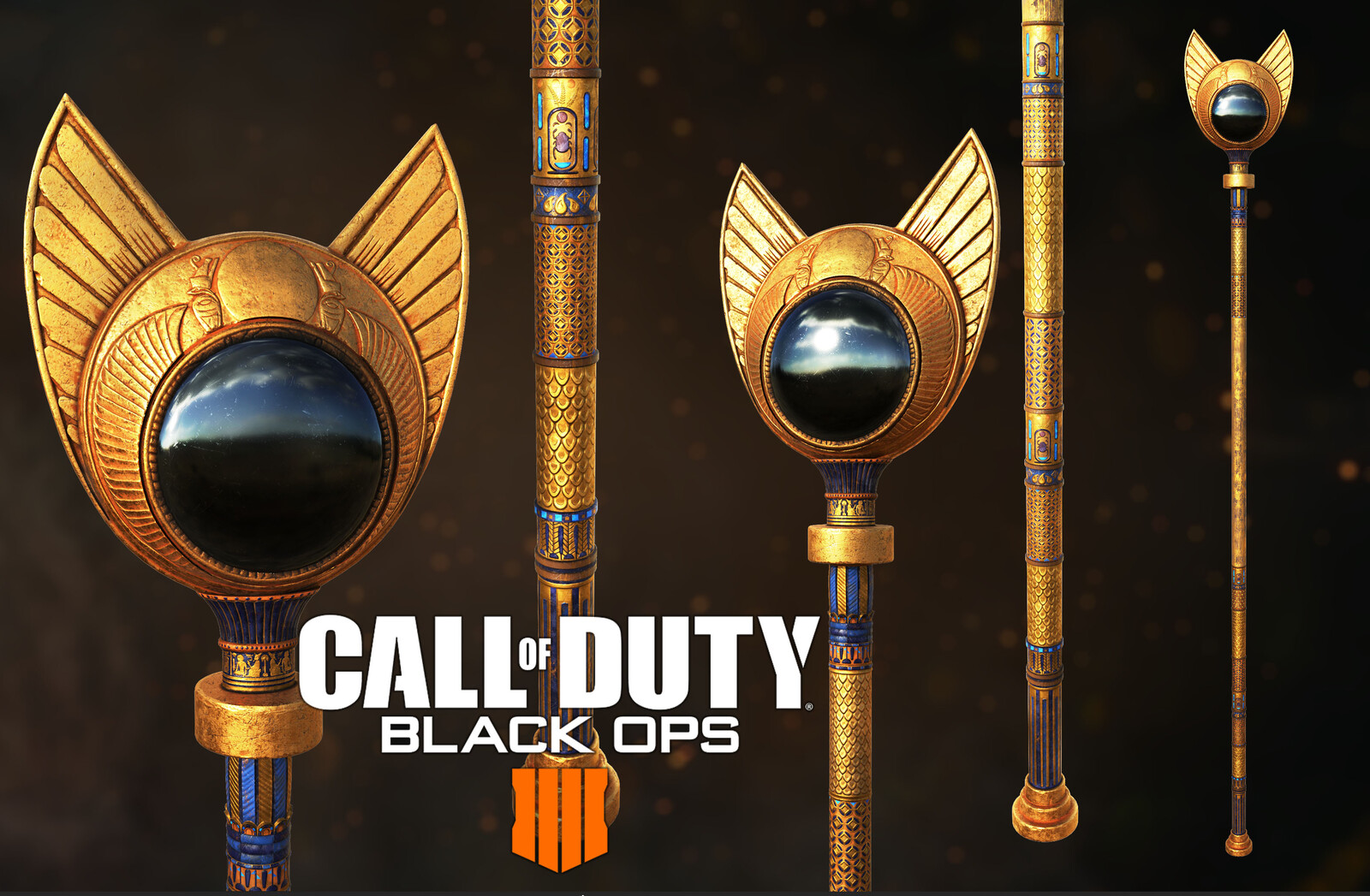 Call Of Duty Black Ops 4 staff