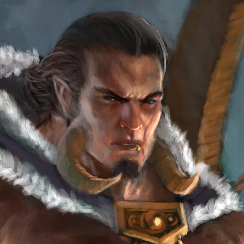 Chieftain Krieg Black Axe
