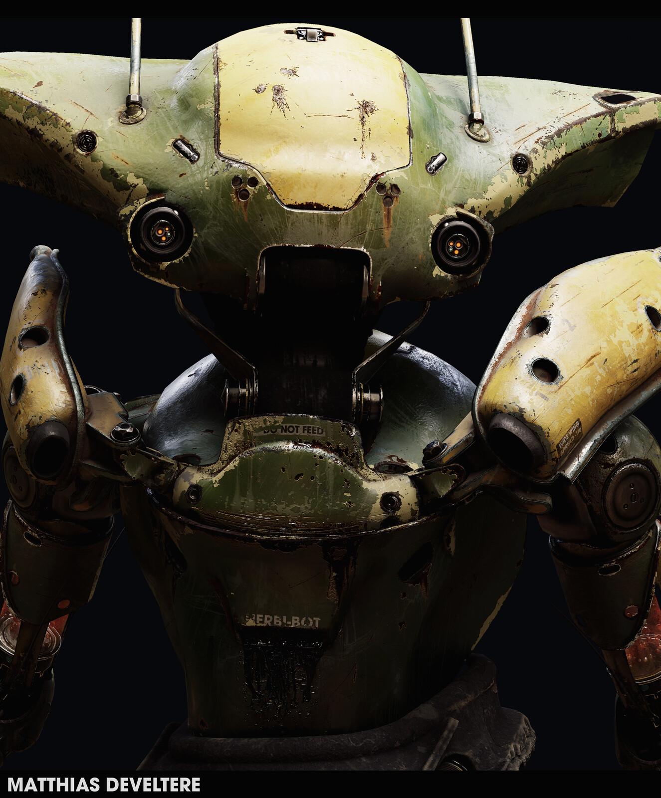 Herbi-Bot - LowPoly