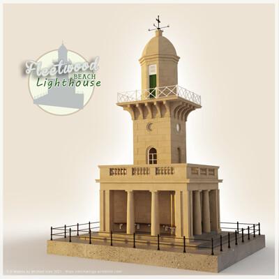 Michael klee michael klee fleetwood lower lighthouse beach 3d models by michael klee 2021 thumbnail artstation
