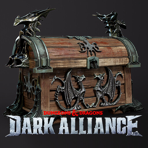 Dungeons & Dragons: Dark Alliance - Environment Assets