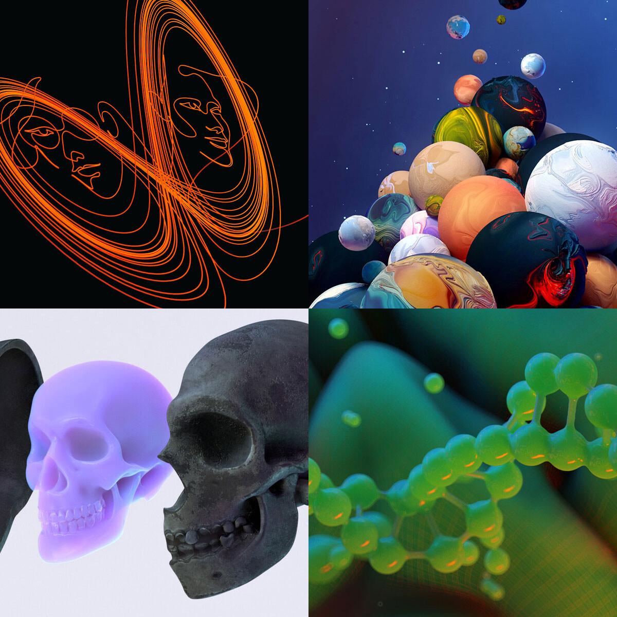 2019 • Scientific & Mathematical 3D Illustration & Animation • Quanta Magazine