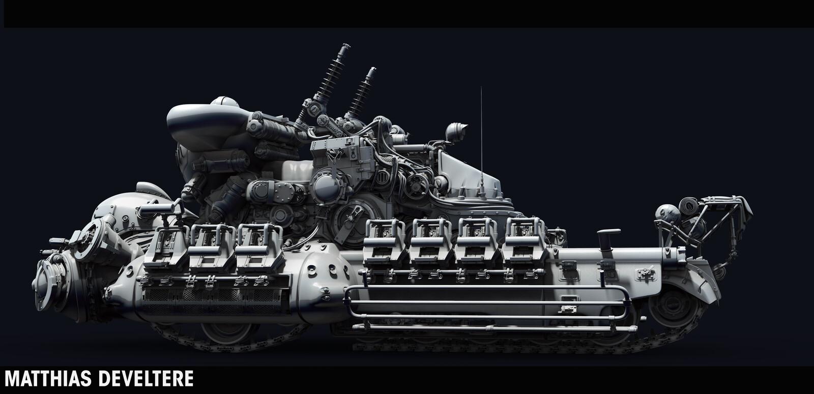 MachineKreiger Tank 2 - 2015