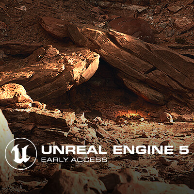 Unreal Engine 5 Early Access - Valley of the Ancient Environment