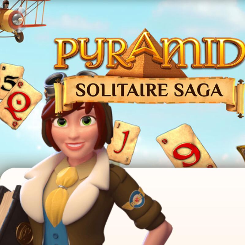 Pyramid Solitaire Saga / 2D Background ART